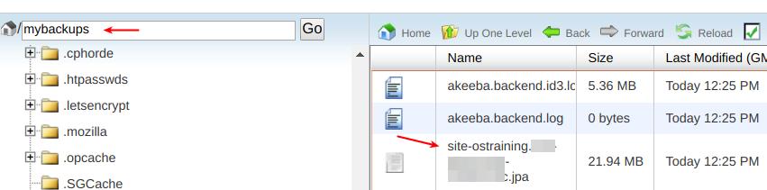 加强使用Akeeba Backup创建的备份的安全性