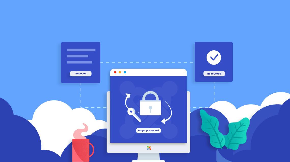 恢复丢失的Joomla密码的最常用方法
