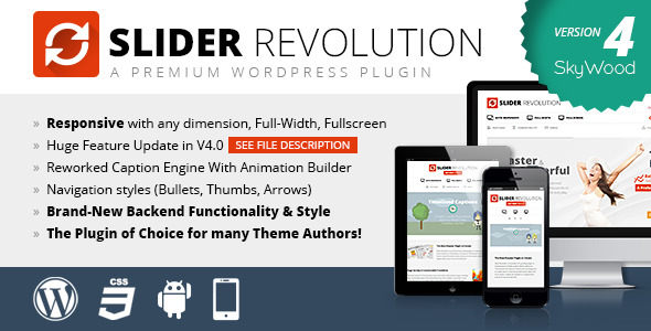 slider revolution responsive wordpress plugin v5.4.